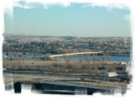 Eagle's View B & B offers great views of the Missouri River from any room in the house.